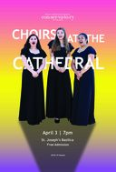Choirs at the Cathedral Concert on April 3