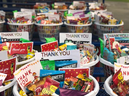VCES Community Donates for Firefighters